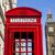красный · телефон · стенд · большой · Бен · Лондон · улице - Сток-фото © chrisdorney