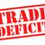 дефицит · красный · белый · деньги · Label - Сток-фото © chrisdorney