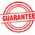 garanderen · Rood · stempel · exemplaar · ruimte · geïsoleerd · witte - stockfoto © chrisdorney