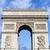 Триумфальная · арка · Париж · Франция · мнение · Vintage · ретро-стиле - Сток-фото © chrisdorney