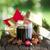 christmas · wijn · ingrediënten · top · exemplaar · ruimte - stockfoto © chrisjung