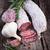 スライス · 唐辛子 · サラミ · 緑 · 食品 · 牛肉 - ストックフォト © chrisjung