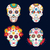 day of the dead skulls for mexican celebration stock photo © cienpies
