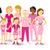 breast cancer awareness pink women happy ribbon stock photo © cienpies