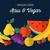 ruw · veganistisch · voedsel · peer · tekst · ontwerp - stockfoto © cienpies