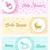 baby shower banner set design stock photo © cienpies
