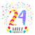 feliz · cumpleaños · 17 · año · tarjeta · número - foto stock © cienpies