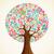tudás · fa · illusztráció · növekvő · zöld · levelek - stock fotó © cienpies