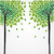Cute concept trees drawing stock photo © cienpies