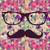 vintage · hipsters · disegno · geometrico · colorato · retro · triangolo - foto d'archivio © cienpies