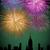 vuurwerk · centrum · stad · nieuwjaar · kaart · partij - stockfoto © cienpies