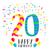 двадцать · 20 · год · рождения · числа - Сток-фото © cienpies