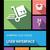 telefone · móvel · aplicativos · palavra · aplicações - foto stock © cienpies