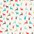 ヴィンテージ · クリスマス · トナカイ · 要素 · ラッピング - ストックフォト © cienpies