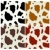 cow print pattern stock photo © cienpies