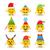 набор · различный · иконки · веселый · рождество - Сток-фото © cienpies