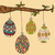 conjunto · cor · ovos · de · páscoa · decorado · ornamento · páscoa - foto stock © cienpies