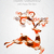 neşeli · Noel · geometrik · soyut · poster · doku - stok fotoğraf © cienpies