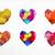 zsákmány · szeretet · vektor · akta · rétegek · pár - stock fotó © cienpies