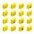 flat isometric emoticons set illustration stock photo © cienpies