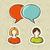 social · media · pęcherzyki · wzór · kolorowy · mowy · przezroczystość - zdjęcia stock © cienpies