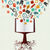 education colorful icons book tree stock photo © cienpies