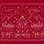 allegro · Natale · buon · anno · contorno · star · art · deco - foto d'archivio © cienpies