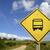 bus · scolaire · pays · vue · rural · route - photo stock © cienpies