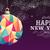 nouvelle · année · 2016 · origami · coloré · carte · de · vœux · design - photo stock © cienpies