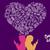 social media share love lesbian concept design stock photo © cienpies