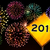 placa · sinalizadora · feliz · ano · novo · 2013 · fogos · de · artifício · faíscas · texto - foto stock © cienpies