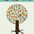 arbre · éducation · icônes · vecteur · papier - photo stock © cienpies