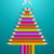 szivárvány · színes · fa · vágási · körvonal · terv · színek - stock fotó © cienpies