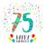 С · Днем · Рождения · год · плакат · цвета · пятьдесят - Сток-фото © cienpies