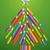 tęczy · kolorowy · drzewo · projektu · kolory - zdjęcia stock © cienpies