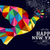 new year 2015 peace dove card stock photo © cienpies