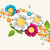 colorful splash flower background stock photo © cienpies
