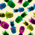 цвета · ретро · ананаса · лет · дизайна - Сток-фото © cienpies
