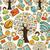 社会的ネットワーク · ツリー · メディア · アイコン - ストックフォト © cienpies