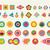conjunto · abstrato · vibrante · colorido - foto stock © cienpies