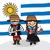 少年 · スペイン国旗 · 実例 · 女性 · 男 · スポーツ - ストックフォト © cienpies