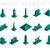 vektör · 3D · izometrik · mısır · piramit · deve - stok fotoğraf © cienpies
