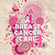 breast cancer care font pink geometric poster stock photo © cienpies