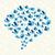 kuşlar · bulut · konuşma · balonu · komik · kart · hayvan - stok fotoğraf © cienpies