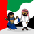 welcome to arab emirates people stock photo © cienpies