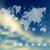 mapa · do · mundo · viajar · ícones · globo · terra - foto stock © cienpies