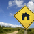buy your own house concept icon road sign stock photo © cienpies