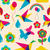 colorful summer origami pattern stock photo © cienpies