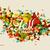 abstract · mozaiek · regenachtig · seizoen · bestand · regen - stockfoto © cienpies