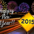 happy · new · year · 2015 · feux · d'artifice · ville · voitures · autoroute - photo stock © cienpies